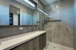 Bathroom | Bentleigh townhouses built by Trademark Builders