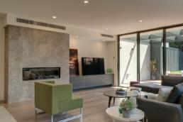 Living Area | Bentleigh townhouses built by Trademark Builders